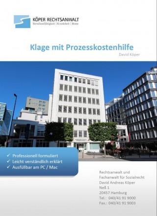 Klage und Prozesskostenhilfeantrag
