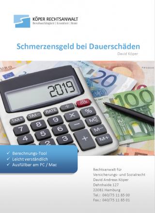 Schmerzensgeld nach OLG Frankfurt berechnen