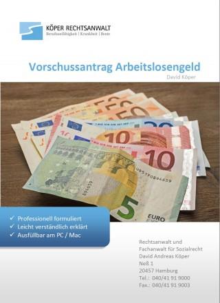 Muster-Vorschussantrag Arbeitslosengeld