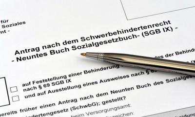 Antrag Schwerbehindertenausweis