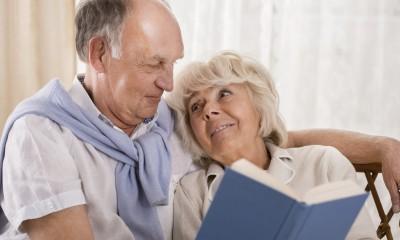 Rentner Ehepaar